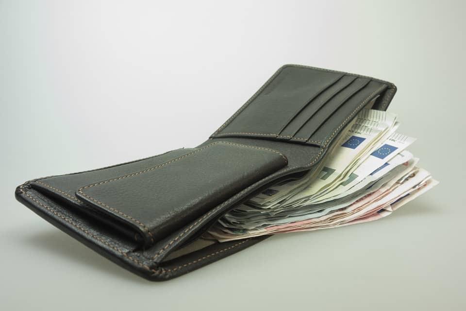 bőr pénztárcák